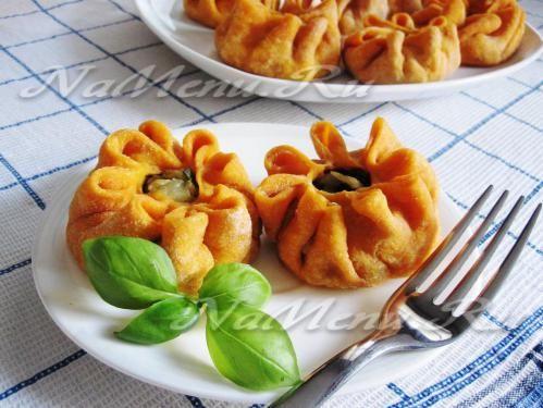 Никуманы - тыквенные пирожки