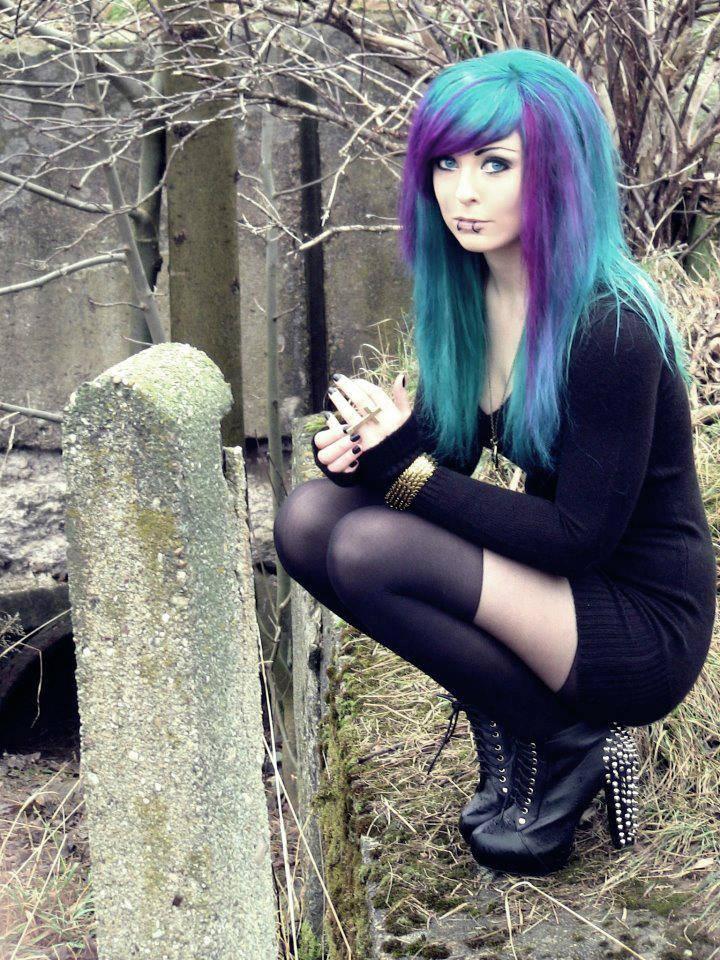 Goth Punk Emo Gothic Steampunk Hair Styles In 2019