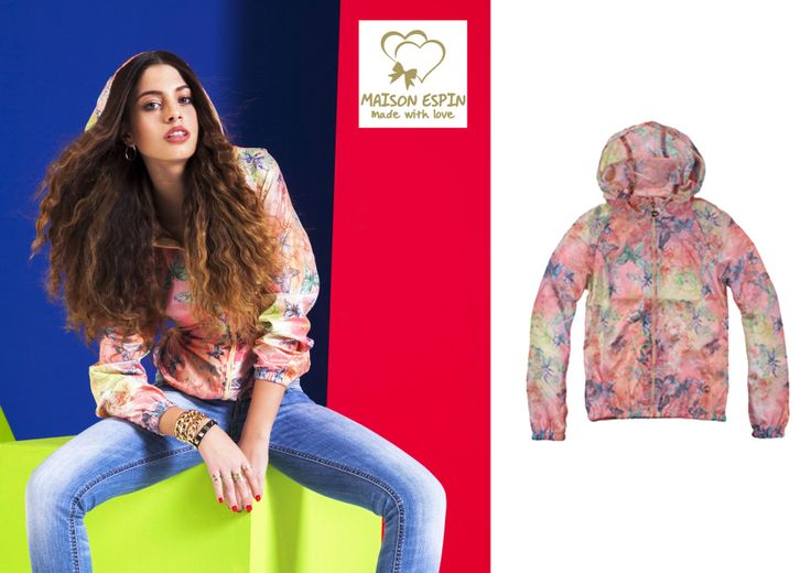 Chiara Nasti #newface #maisonespin #ss14 #collection #lovely #jacket #madewithlove