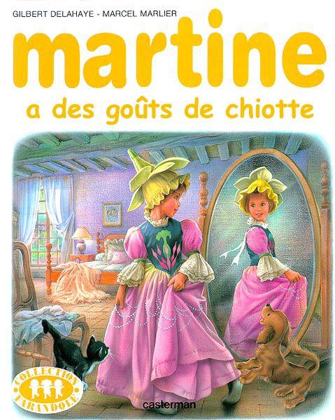 Humour : Martine Cover Generator