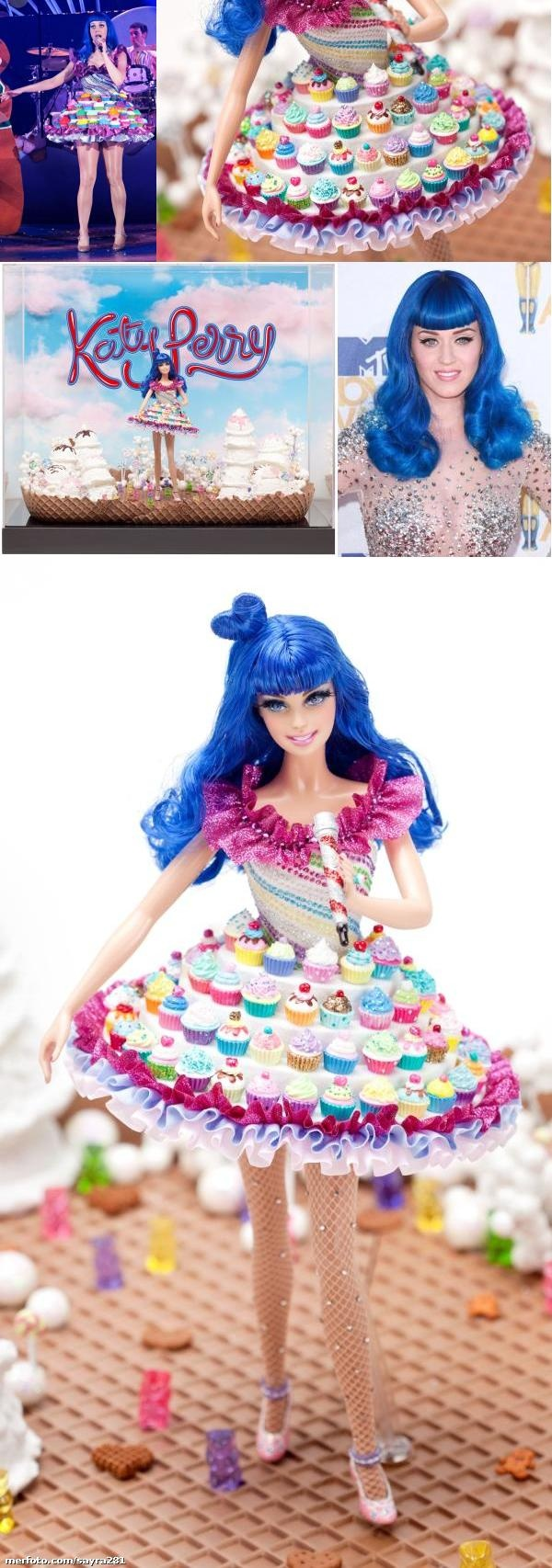 I wish they had this for sale. Tamiah is a huge Barbie and Katy Perry fan. Katy Perry Barbie (2011)