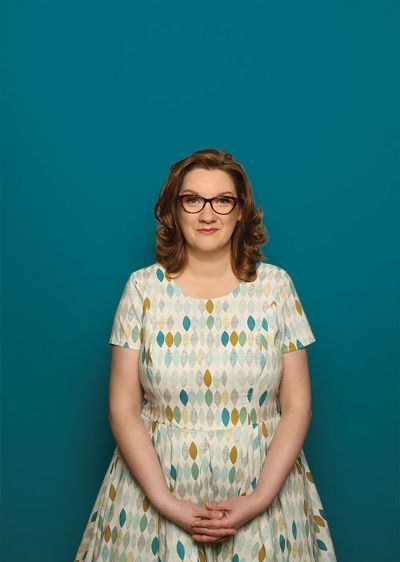 "Sarah Millican, brilliant comedian and co-founder of ""Standard Issue Magazine"""
