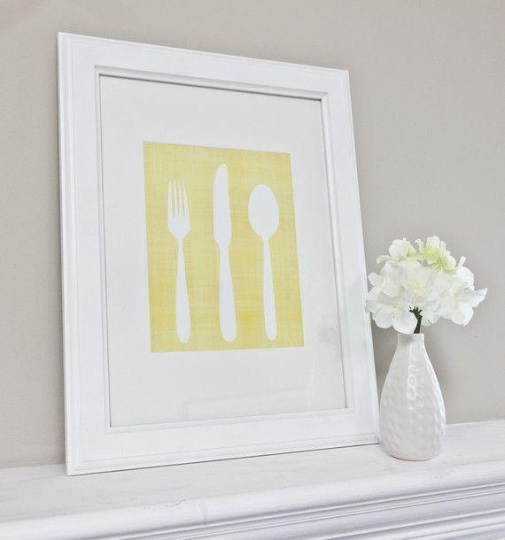 71 best Knife, Fork, & Spoon Wall Art images on Pinterest | Fork ...