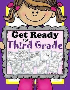 Get Ready for Third GradeGet your child/students read for for third grade with this summer skills packet. You may also use it at the beginning of third grade for an advantage with extra 3rd grade practice!Included in Get Ready for Third Grade:Language ArtsAn Interview with a CharacterCharacter Traits: How would you React?List of Character Traits60 Sight Words, Flashcards (4 pages)Contraction Sort-InteractivePrefix, Suffix-InteractivePoint of View, (Would you Rather?) 5 pagesCompare and…