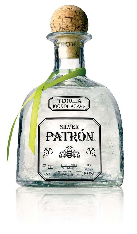 Patrón Silver Tequila (Engraved Bottle); Classic, signature blanco tequila from Patrón - big taste, big satisfaction | spiritedgifts.com