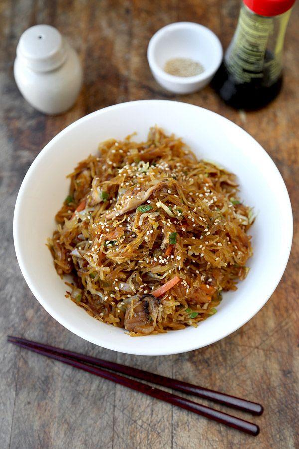 Spaghetti Squash Yakisoba