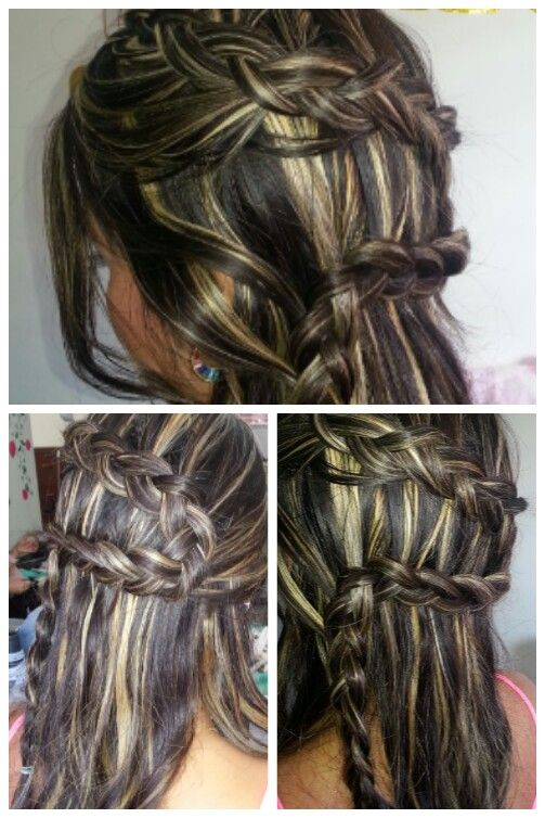 Trenza dutch de lado !