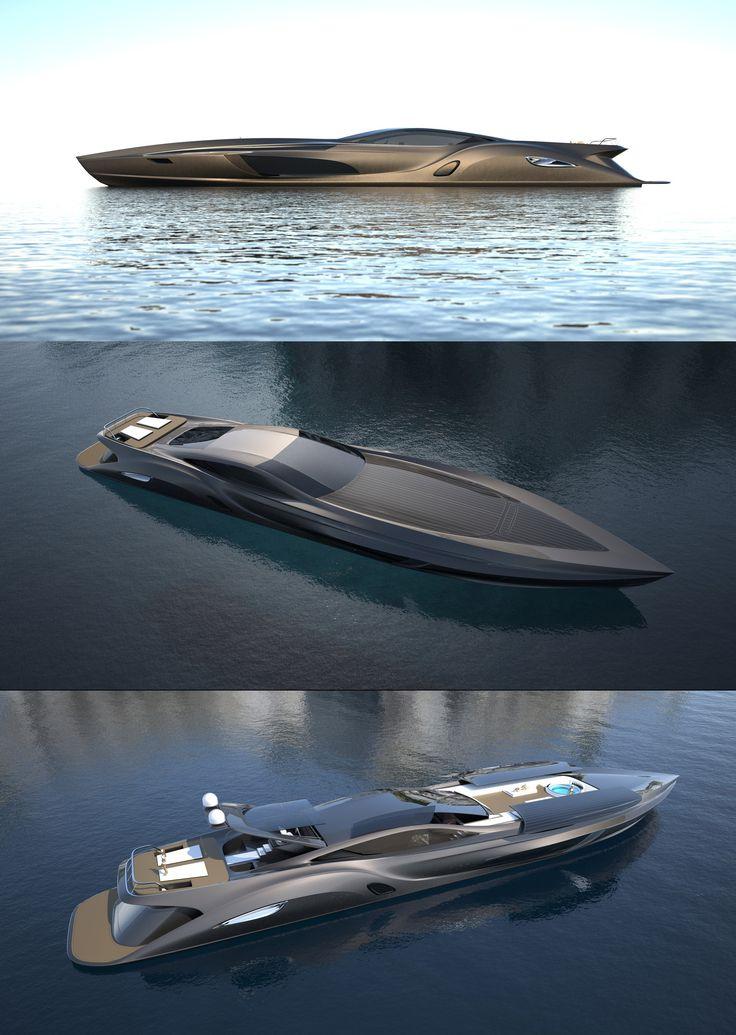 Strand Craft 166 Yacht designed by Gray Design