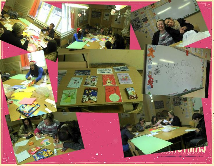 We are in the middle of creating and sending Christmas cards for our partners