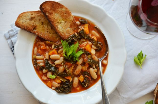 ribollita - toskánská polévka