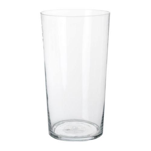 BLADET Vase IKEA Mundgeblasen; jedes Exemplar wurde von einem talentierten Kunsthandwerker gefertigt.