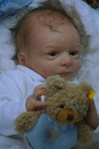 Cute Reborn Baby Doll Soft Silicone 18 Inch Handmade Baby: 207 Best Images About Reborn Babies- Realistic Dolls On