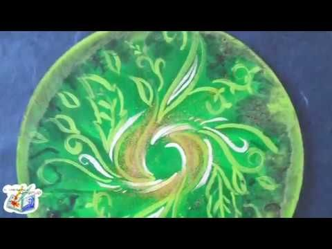 SpeedArt: Mandala Verde