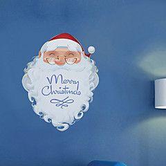 Noël+Bande+dessinée+Romance+Stickers+muraux+Autocollants+avion+Miroirs+Muraux+Autocollants+Autocollants+muraux+décoratifs+Autocollants+–+EUR+€+5.06