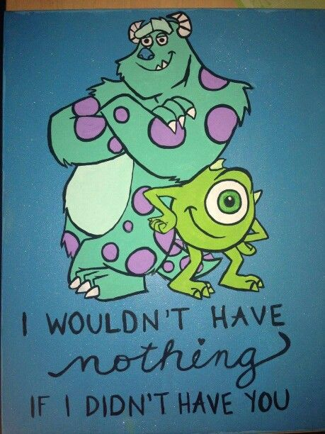 Monsters inc canvas