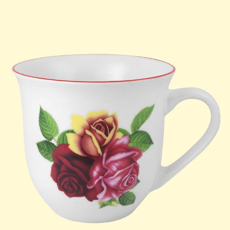SHOP-PARADISE.COM:  Набор кружек Чайный дизайн Английский букет 330 мл (6 шт.) 13,44 €