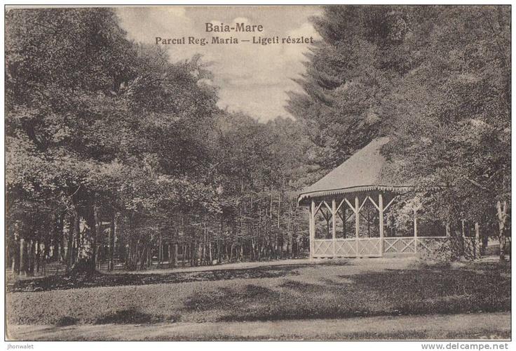 Baia Mare - Parcul Regina Maria - interbelica