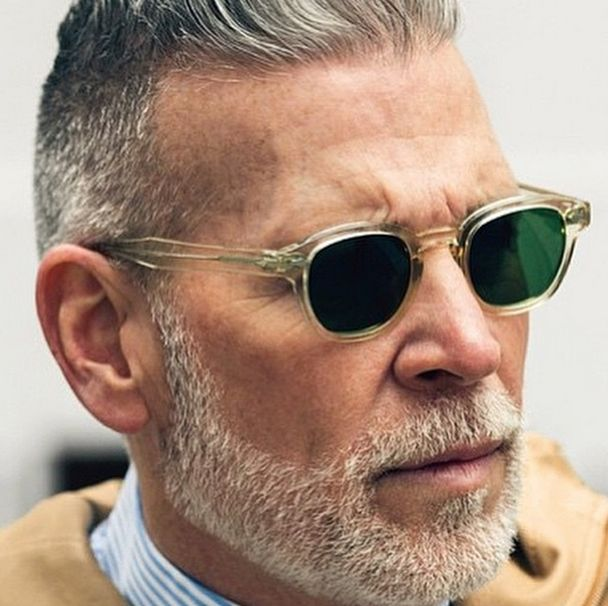 Nick Wooster in Moscot Lemtosh Flesh                                                                                                                                                     More