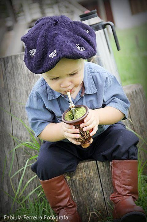 Tradição se cultua desde pequeno.