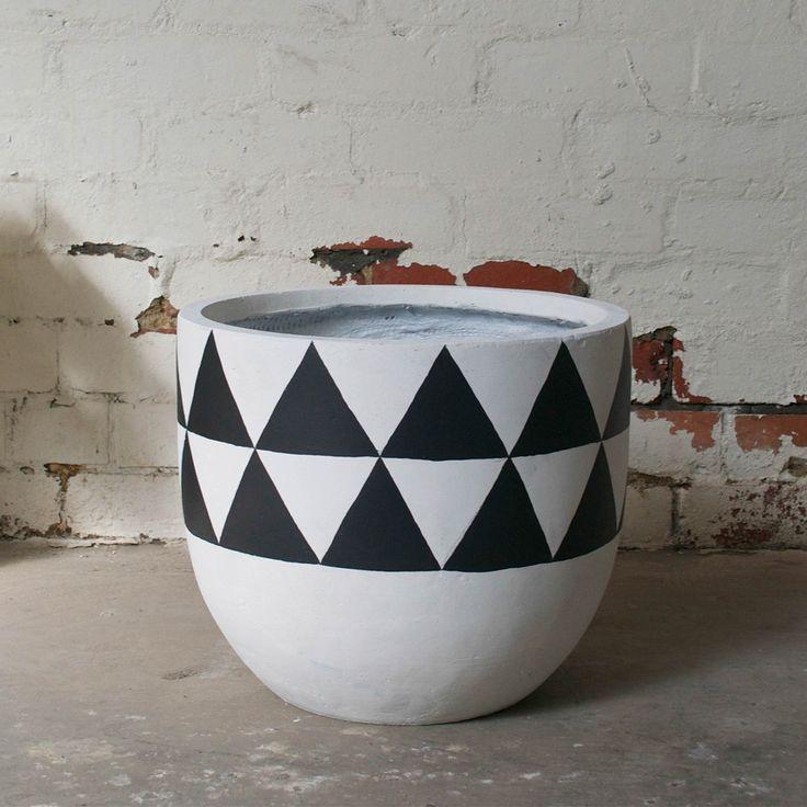 Aztec Pot - Black | $190.00