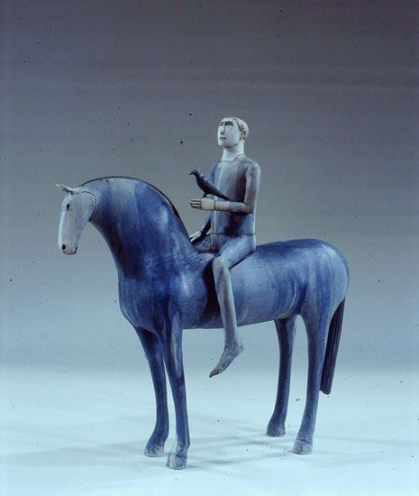 Anna Noel Horse and ridder