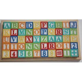 Alfabet Blokken - Houten Blokken