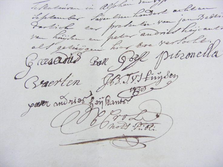 Voor ALPHEN EN CHAAM hebben we binnenkort het gehele notariële archief via de website beschikbaar. Dat van Alphen (1577 – 1717) is al beschikbaar. De stukken van Chaam (1726 – 1908) worden in de tweede helft van 2014 gedigitaliseerd.
