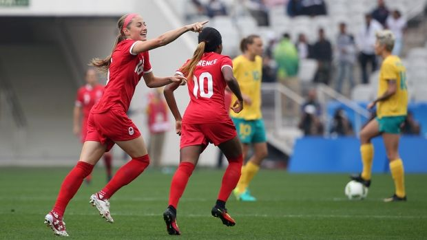 The Canadian women's soccer team kicked off its Olympic tournament with a 2-0 upset victory over fifth-ranked Australia Wednesday afternoon at Corinthians Arena in Sao Paulo, Brazil. Janine Beckie scored the winner in the game's opening 21 seconds, the fastest goal in Olympic soccer history.