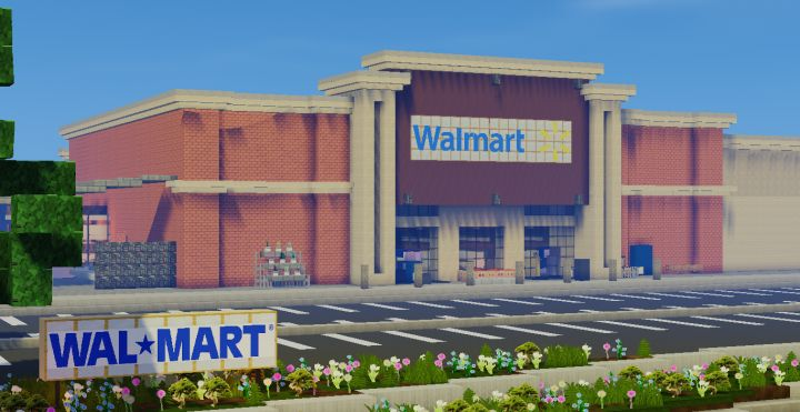 Realistic Walmart Minecraft Project