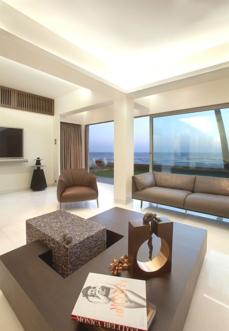A Glamorous Beachside Property Fit For Bollywood Celebrity Mumbai India