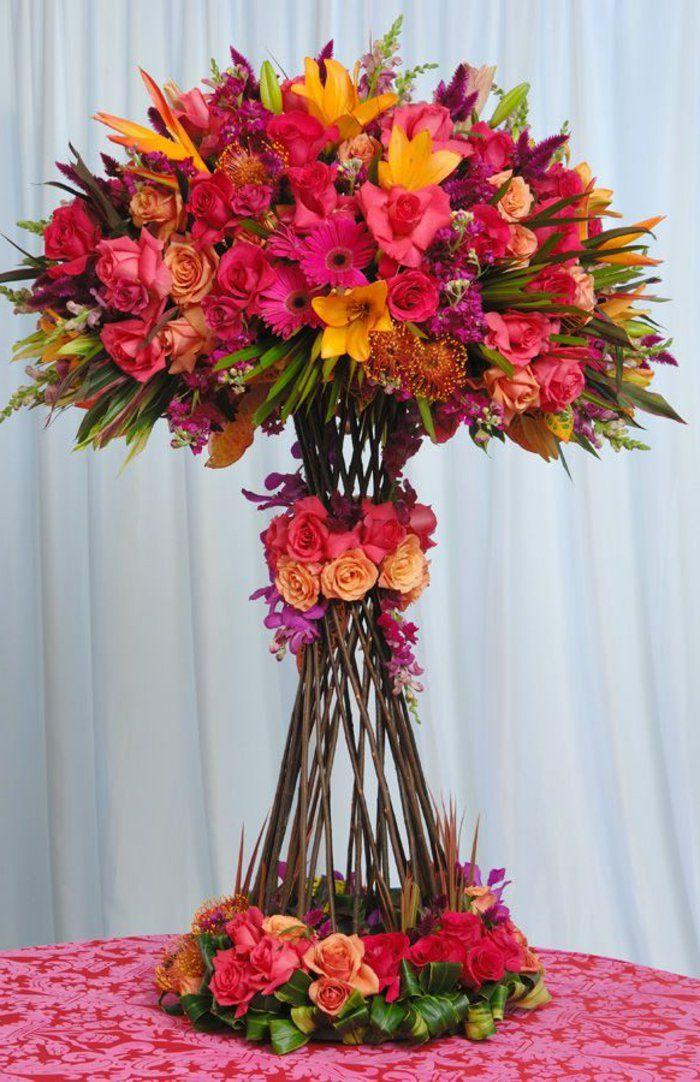 Art floral moderne joli bouquet de fleurs v g tal for Bouquet de fleurs 6 lettres