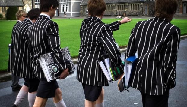 """A leading clothing designer has slammed a Ministry of Education proposal to introduce gender neutral uniforms to New Zealand schools, calling it a """"time-wasting idea"""". However, Denise L'Estrange-Corbet told ONE News that """"gender neutral"""" was a difficult concept to define.  """"All I can think of is that they're thinking girls should be wearing trousers but if it's gender neutral, shouldn't boys be wearing skirts?"""", she said."""