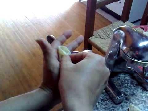 """Ricetta """"Culurgiones de Patata"""" con video: come chiudere con cucitura """" a spiga"""".avi"""