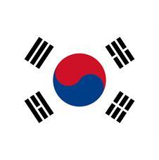 Liten Flagga sydkorea