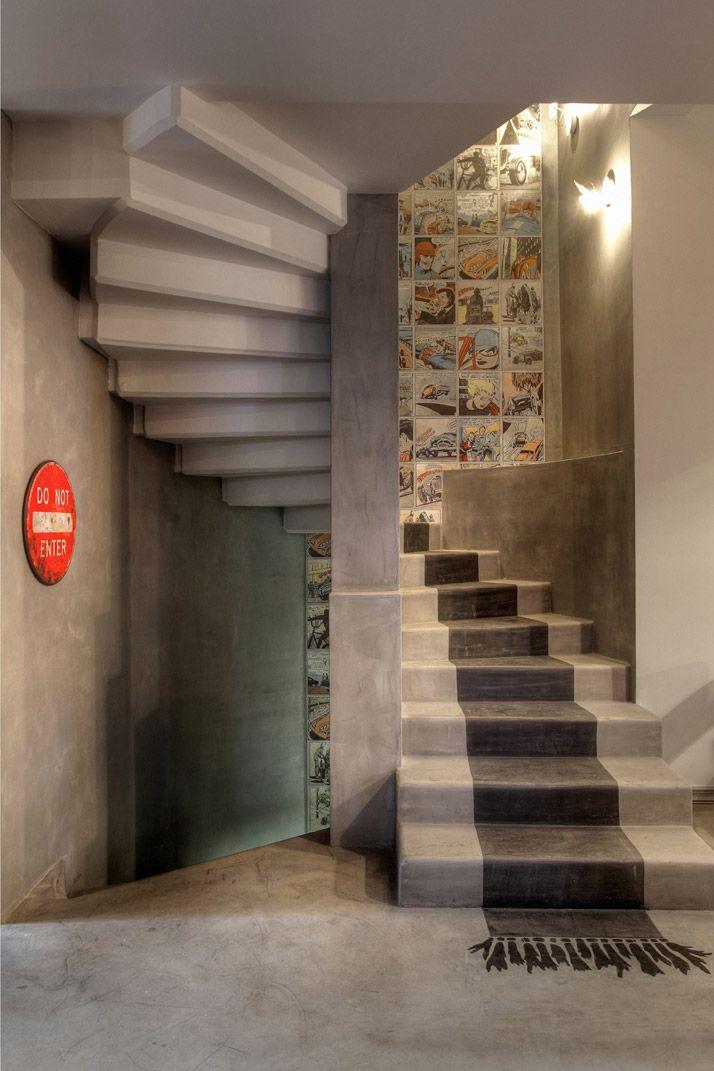 beton stairs