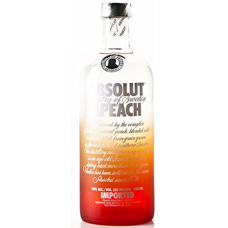 Vodka Absolut Apeach - Menor Preço