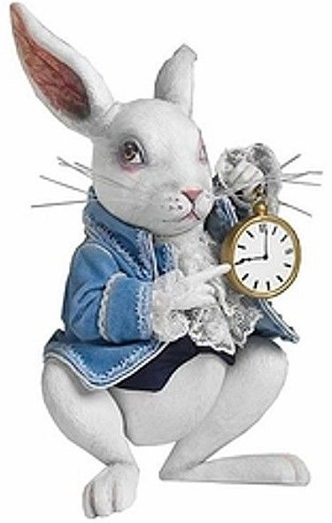 *ALICE IN WONDERLAND ~ Tim Burton's NivenMcTwist, the White Rabbit, Robert Tonner