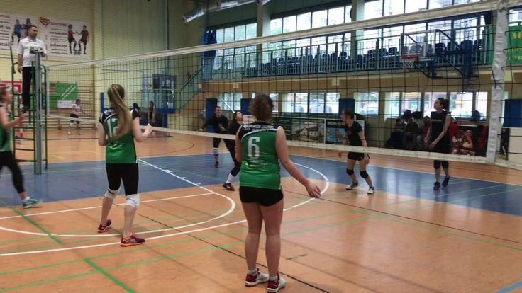 Volleyball: Prądnik 3 Kraków - MOS 3D Sport Kraków [piłka meczowa]