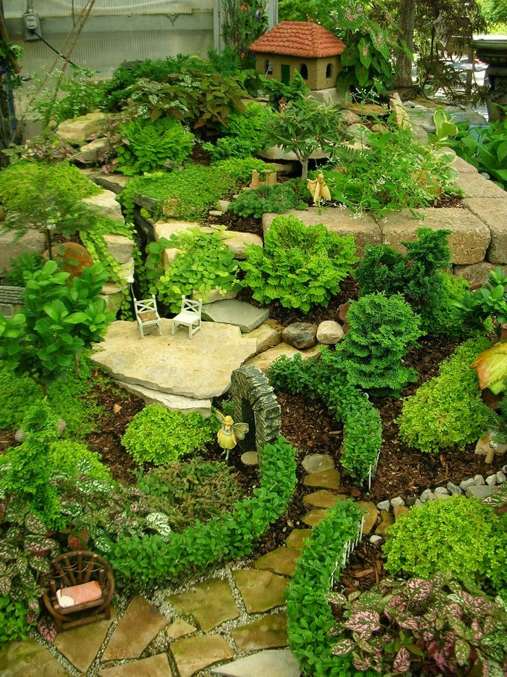 Fairy Garden Landscape Design heres what i dont like about fairy gardens Garden Thyme With The Creative Gardener Creative Fairy Garden Ideas