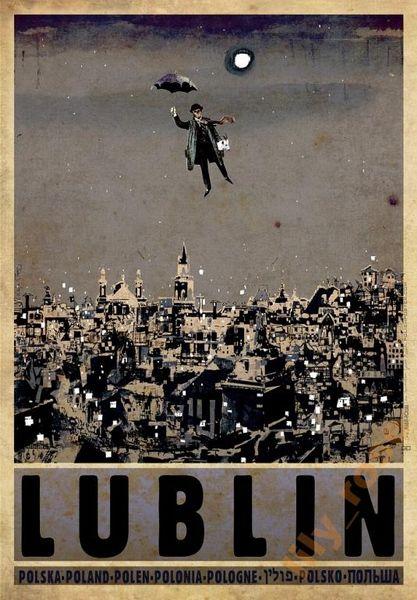 Lublin, Poland Lublin, Polska Kaja Ryszard Polish Poster