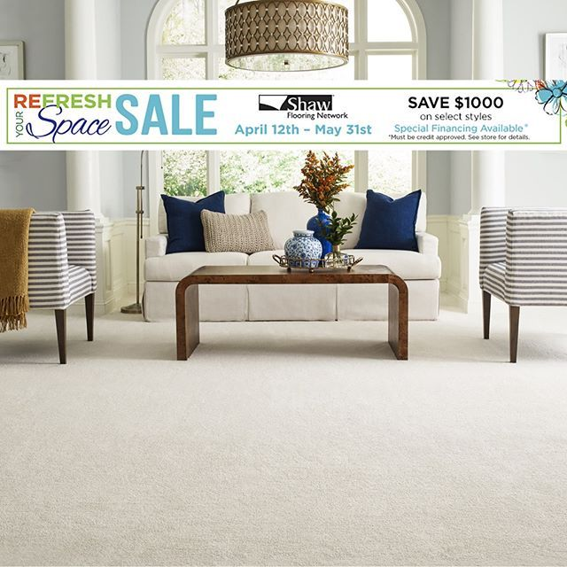 As Your Local Shaw Flooring Network Dealer We Carry Exclusive Styles You Can T Find At Other Flooring Stores Be Beautiful Carpet Flooring Store Flooring Sale