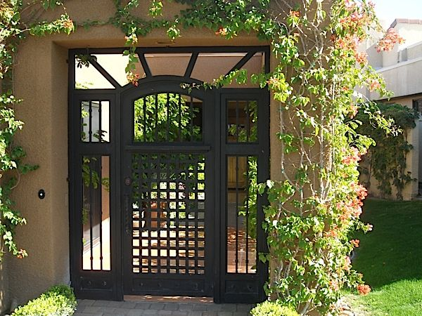 62 best images about iron entry gate on pinterest for Courtyard driveway house plans