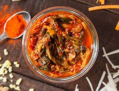 A vegan kimchi recipe that's as spicy and delicious as its traditional Korean counterpart. A kimchi recipe to keep around and make over and over again.