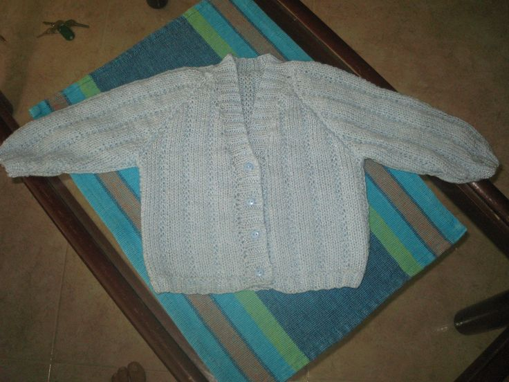 Cardigan for a wee boy.