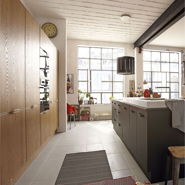 66 best Cuisine images on Pinterest Kitchens, Decorating kitchen - hauteur entre meuble bas et haut cuisine