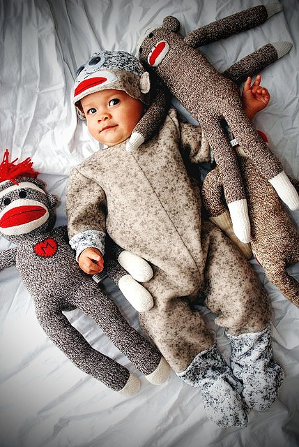Little sock monkeys