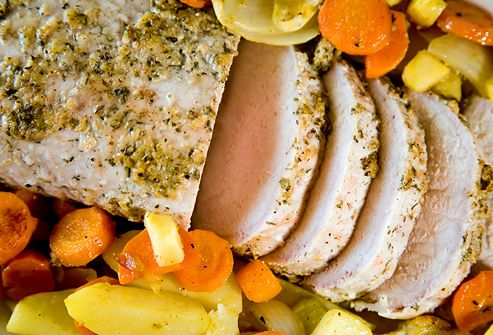 Look for Pork Tenderloin~   It may surprise you to learn that pork tenderloin is a white meat. What's more, the cuts available today are 31% leaner than they were 20 years ago. If you're interested in a high-protein diet, you may want to plan on pork.