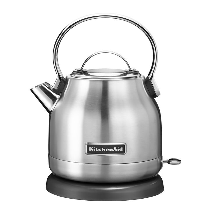 Kitchen Aid KitchenAid - Wasserkocher 1,25 l (5KEK1222), Edelstahl Edelstahl T:17 H:22 B:26