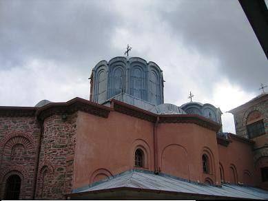 Το καθολικό της Μονής Διονυσίου (Άγιο Όρος) - The katholikon of Monastery of Dionysiou (Mount Athos)