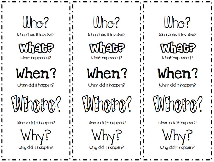 "FREE LANGUAGE ARTS LESSON - ""5 W's Bookmark"" - Go to The Best of Teacher Entrepreneurs for this and hundreds of free lessons.  http://thebestofteacherentrepreneurs.blogspot.com/2012/11/free-language-arts-lesson-5-ws-bookmark.html"